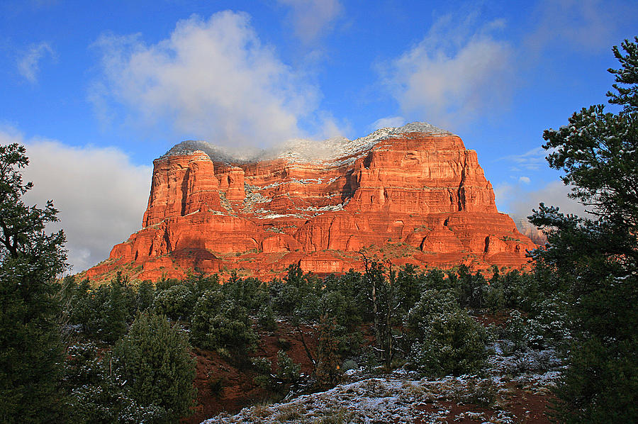 Sedona Photograph - Red Rock Morning by Gary Kaylor