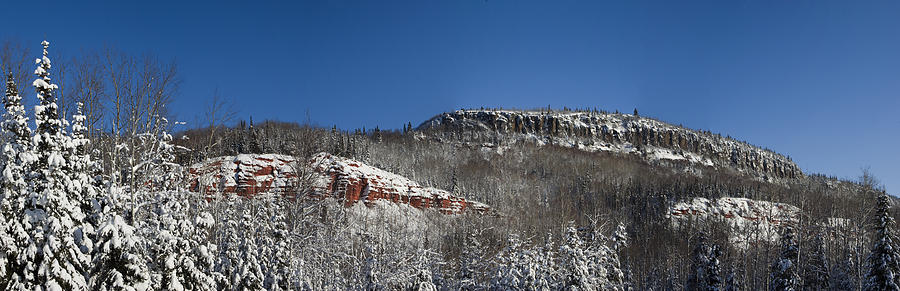 Red Rock Photograph - Red Rock Panorama by Josh Ellis