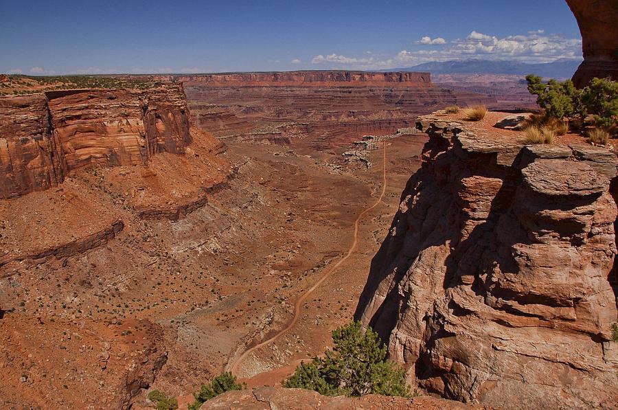 Canyonlands Photograph - Red Rock Vista by Nick Roberts