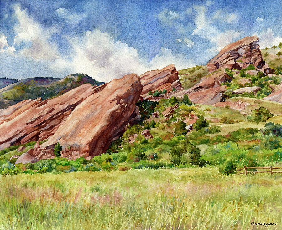 Red Rocks Amphitheatre by Anne Gifford