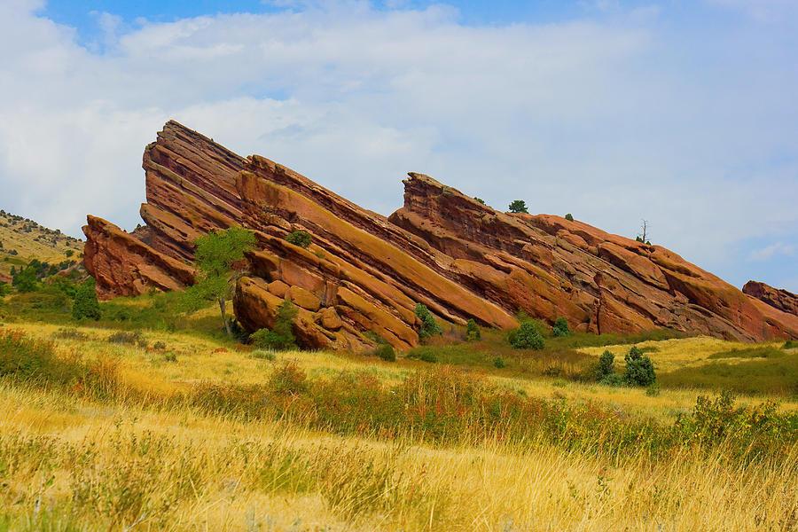 Red Rocks Photograph - Red Rocks by James BO Insogna