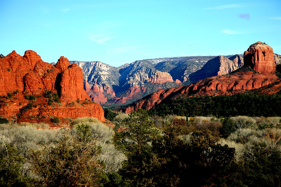 Landscape Photograph - Red Rocks by Jennilyn Benedicto
