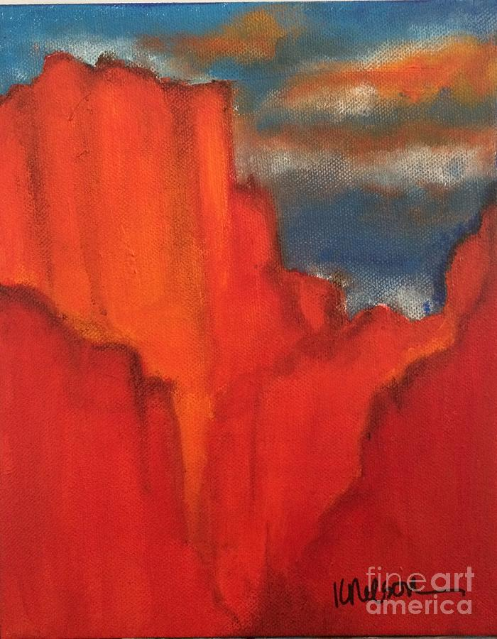 Sedona Painting - Red Rocks by Kim Nelson