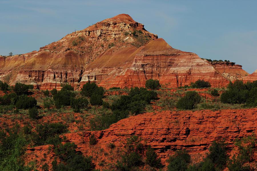Palo Duro Canyon Photograph - Red Rocks of The Canyon by Paul Lamonica