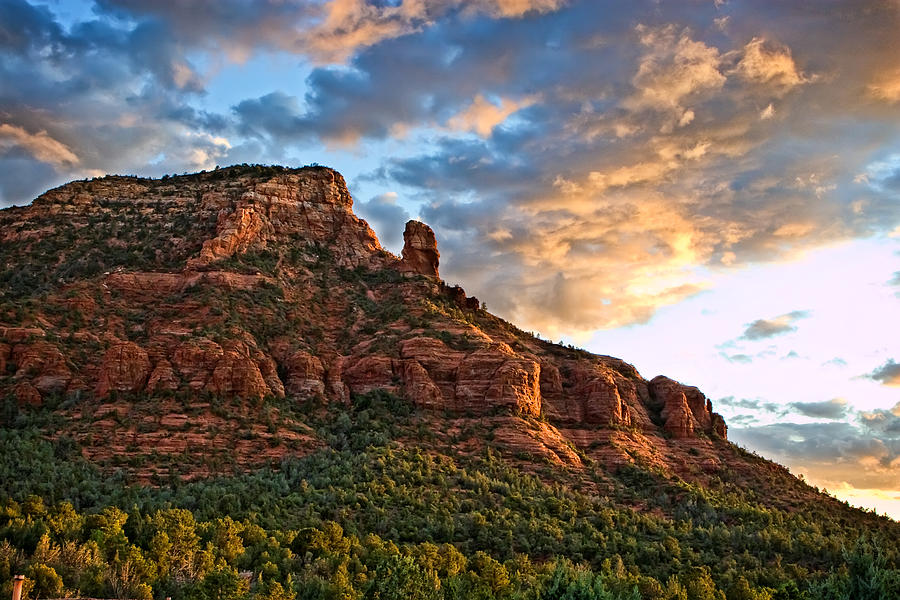 Arizona Photograph - Red Rocks Sedona, Az by Waterdancer