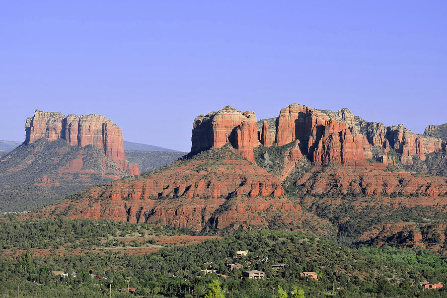 Red Rocks Sedona by Grace Dillon