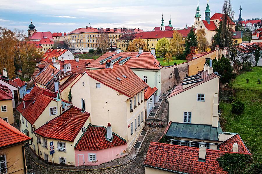 novy svet  Red Roofs Of Novy Svet. Hradcany. Prague Photograph by Jenny ...