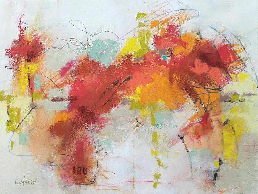 Pastel Painting - Red Rover by Cynthia Haase
