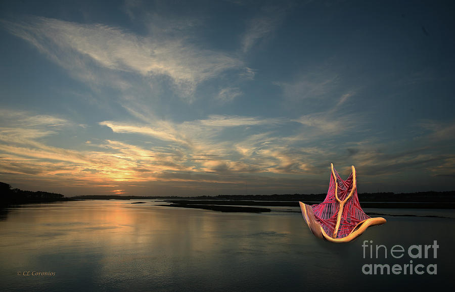 Red Sails in the Sunset by Carol Lynn Coronios