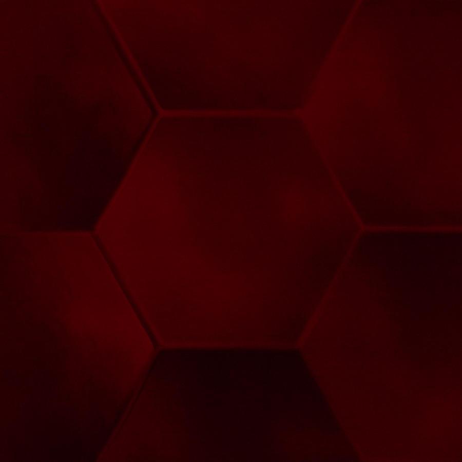 Sexagon Photograph - Red Sexagon by Jouko Mikkola