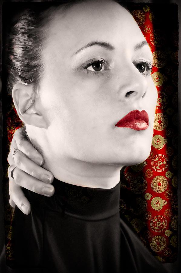 Woman Photograph - Red Shanghai by Rich Leighton