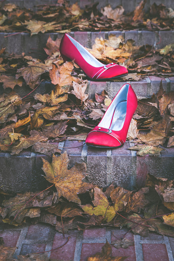 Red Shoes II by Maria Heyens
