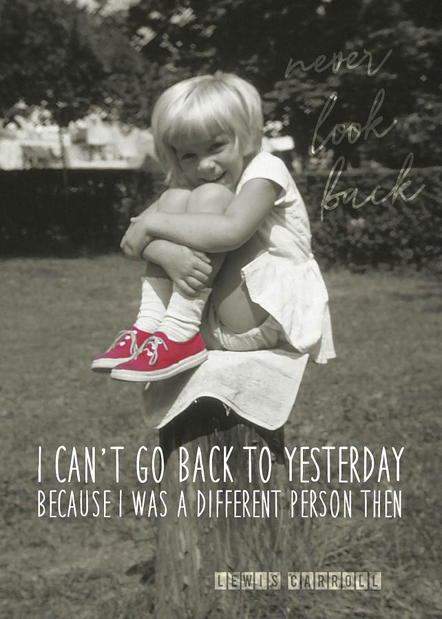 Child Photograph - Red Sneakers Quote by JAMART Photography
