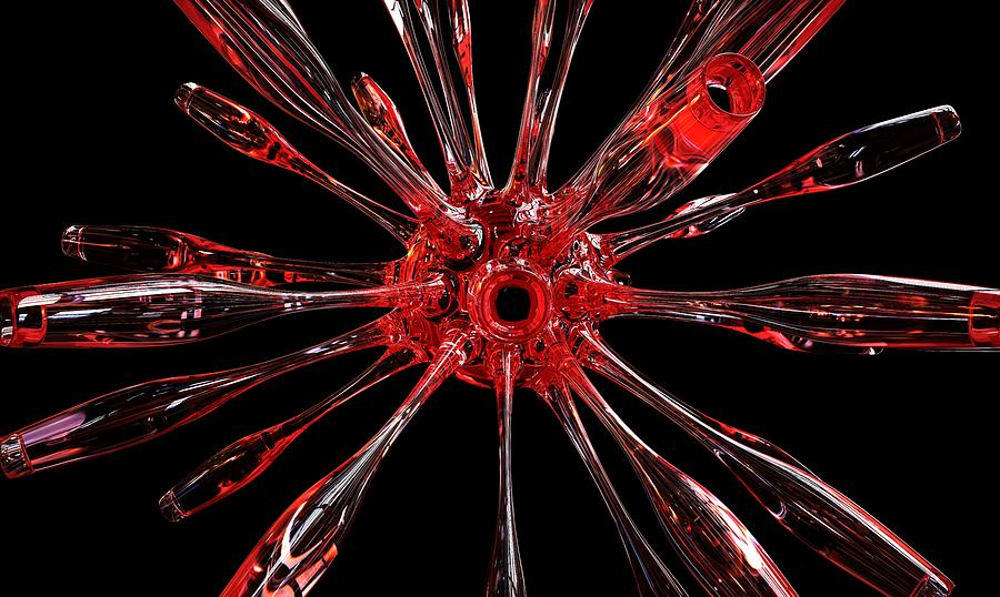 Red Spires of Glass by William Ladson