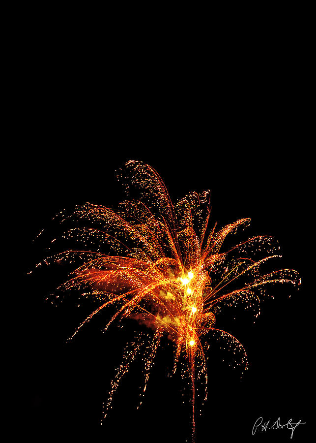 July 4th Photograph - Red Splash by Phill Doherty