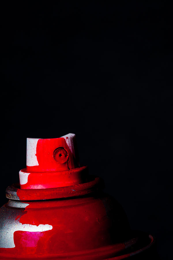 Red Spray by Karol Livote