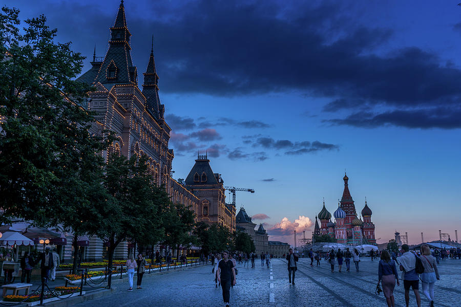 Red Square at Dusk by Boyce Fitzgerald