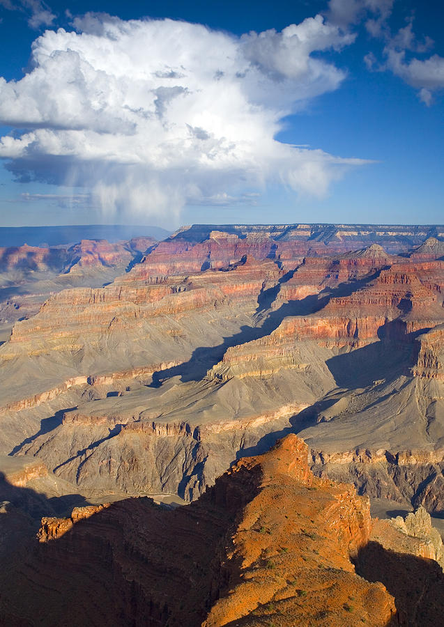 Grand Canyon Photograph - Red Storm Rising by Mike  Dawson