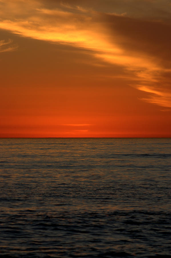 Sunset Photograph - Red Sunset by Brad Scott