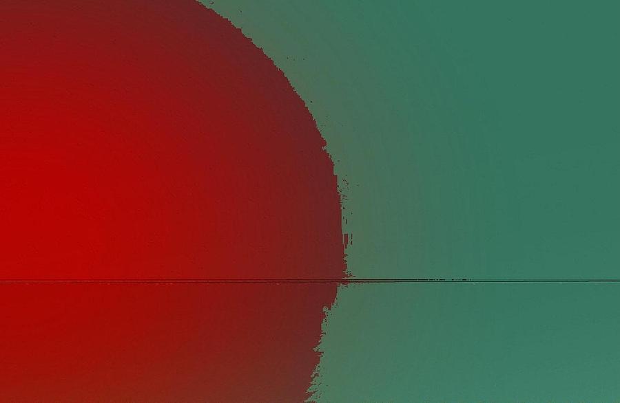 Sunset Digital Art - Red sunset by Joseph Ferguson