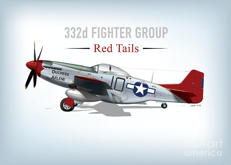 Red Tail Mustang 332fg