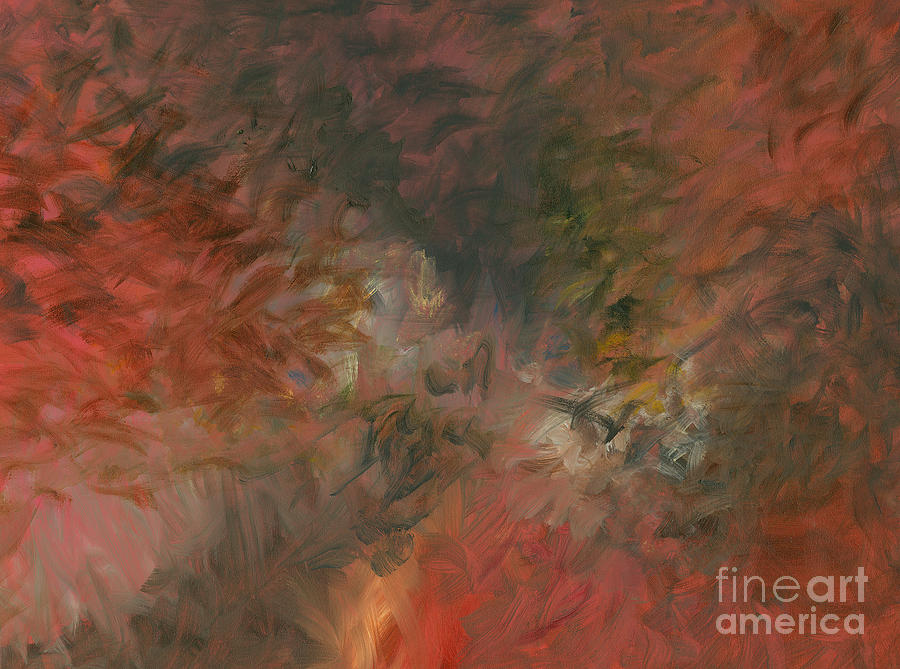 Red Painting - Red Triumph by Nadine Rippelmeyer