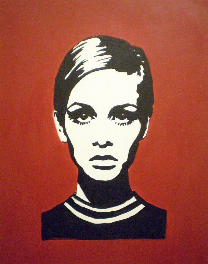 Twiggy Painting - Red Twiggy by Ruth Oosterman