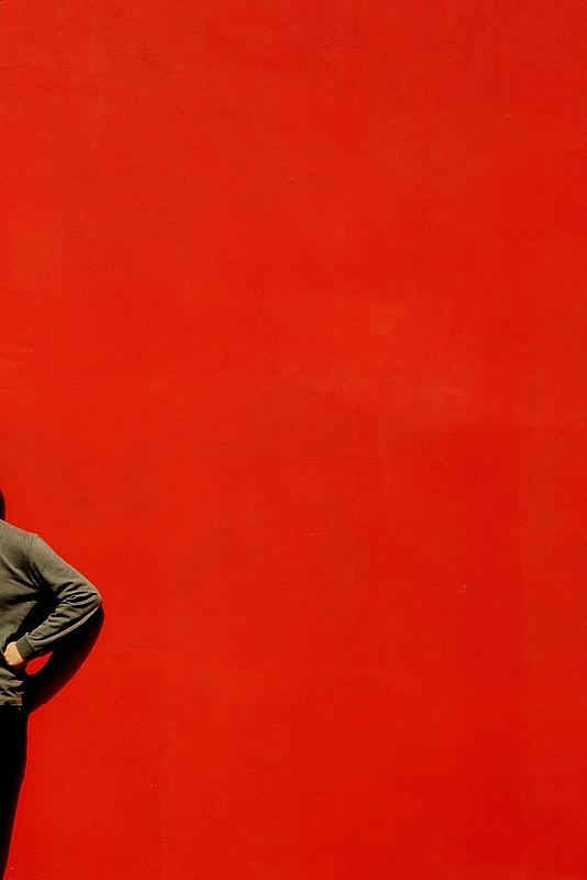 New Photograph - Red Wall by Fernando Cascais