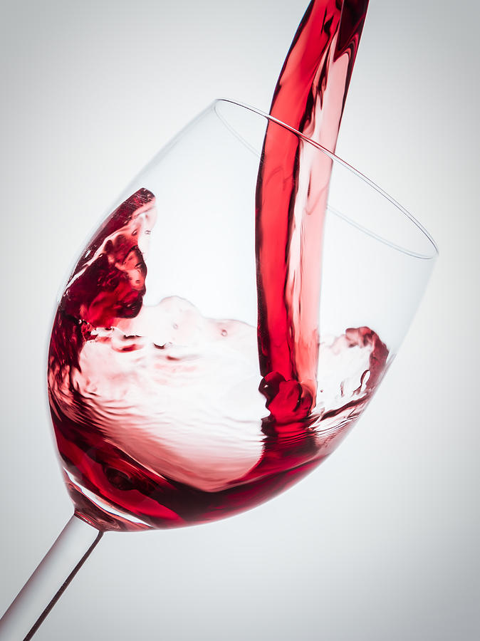 Red Wine Photograph - Red Wine by Alexander Voss