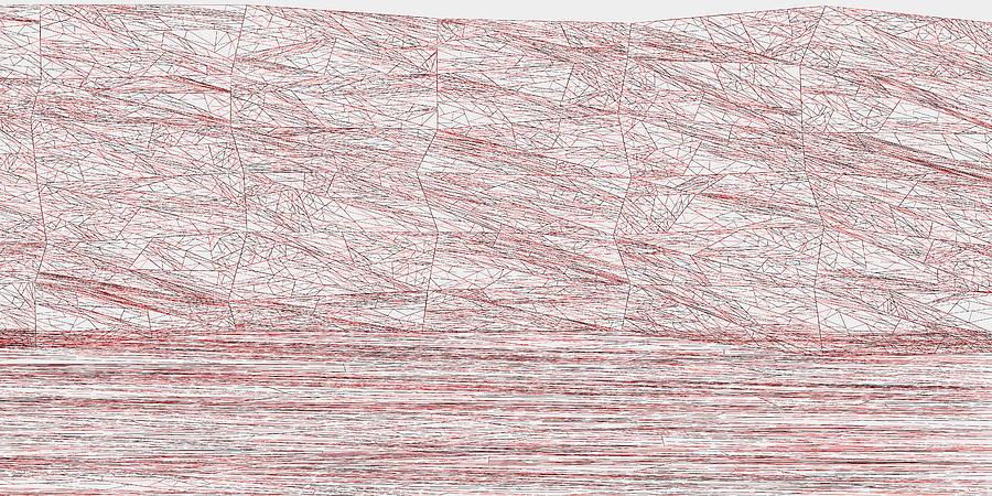 Red.315 Digital Art by Gareth Lewis