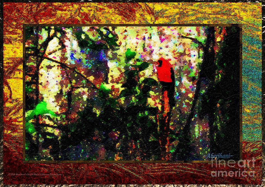 California Mixed Media - Redbird Sifting Beauty Out Of Ashes by Aberjhani