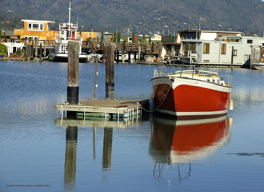 Redboat Photograph by Vari Buendia