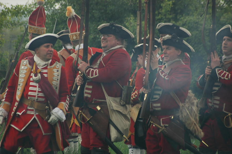 Redcoats Photograph by Richard Hadley