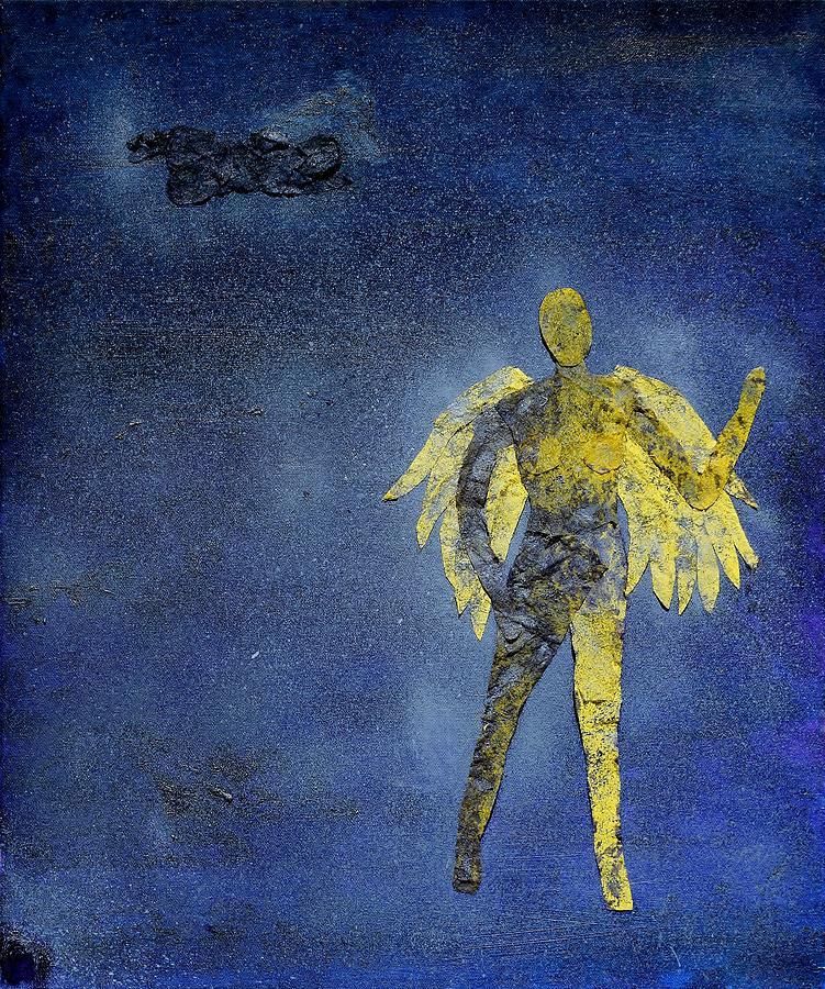 Illness Mixed Media - Redemption by Charla Van Vlack