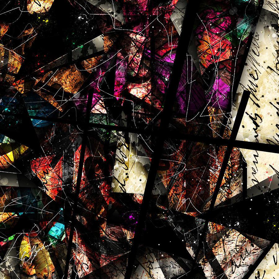 Abstract Digital Art - Redemption by Gary Bodnar