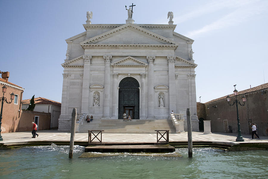 Redentore Photograph - Redentore Church In Venice by Ian Middleton