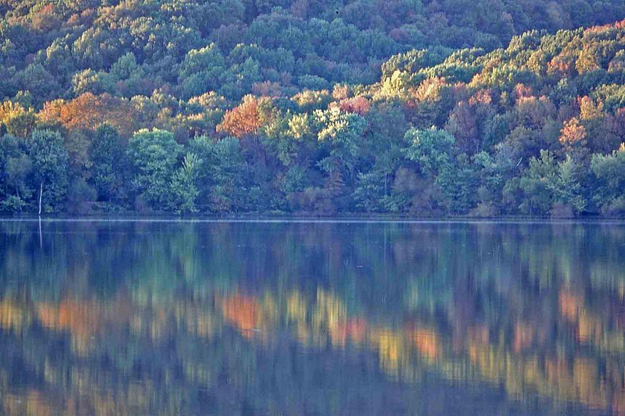 Nashville Photograph - Rednor Lake Reflections - 1 by Randy Muir