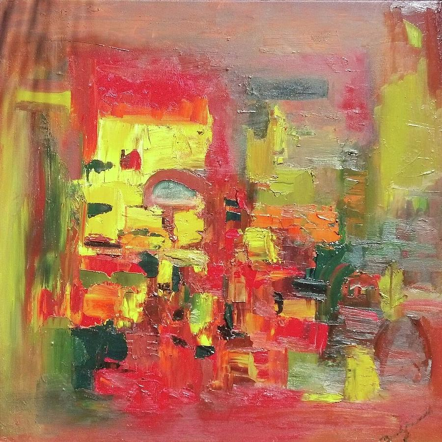 Abstract Painting - Window Of Opportunity by Beverly Smith