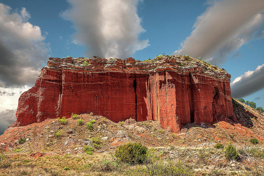 Nature Photograph - RedRock by Scott Cordell