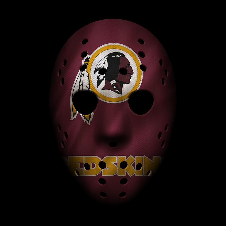 Redskins War Mask Photograph By Joe Hamilton