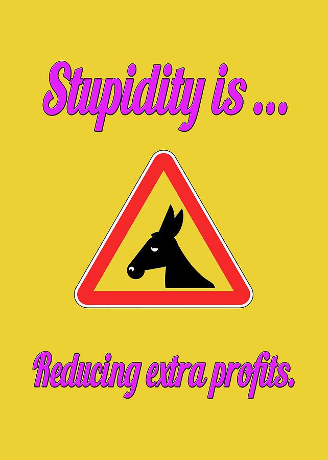Funny Digital Art - Reducing Bigstock Donkey 171252860 by Mitchell Watrous