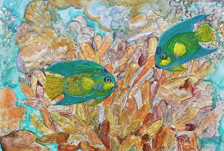 Reef and Ink Redux by Patricia Beebe