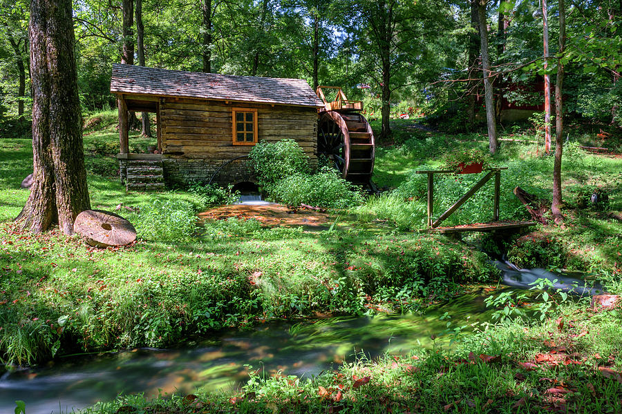 Reed's Mill by John Gilbert