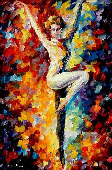 Dance Painting - Refinement  by Leonid Afremov