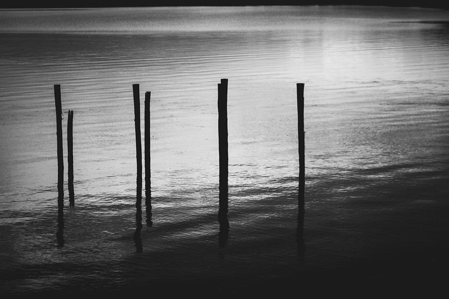 Black And White Photograph - Reflect by Amber Dopita
