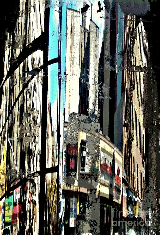 Sarah Loft Photograph - Reflected City 2 by Sarah Loft