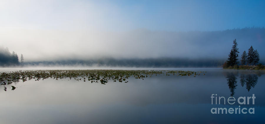 Fernan Lake Photograph - Reflected Mists by Idaho Scenic Images Linda Lantzy