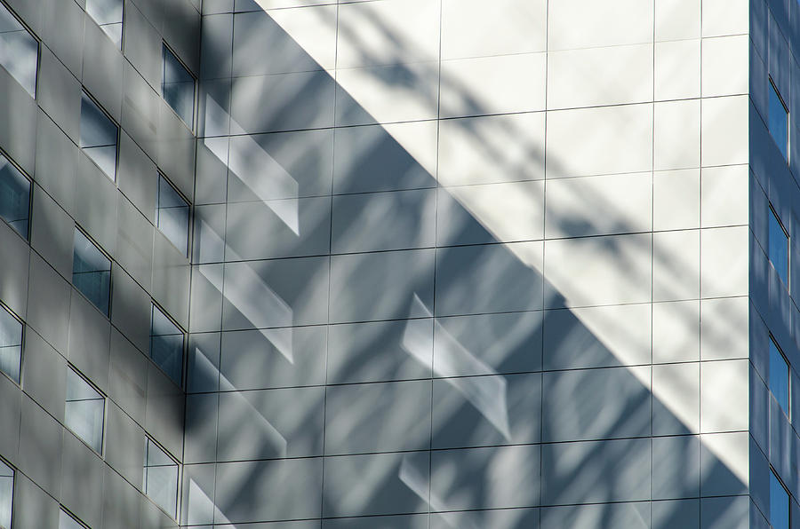 Architecture Photograph - Reflecting On Shadows by Emily Bristor