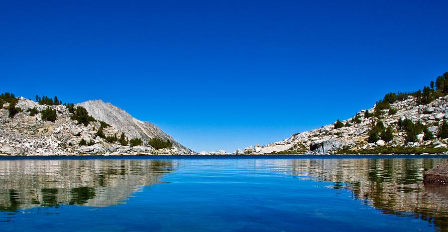 Reflection Photograph - Reflecting On Treasure Lake by Chris Brannen