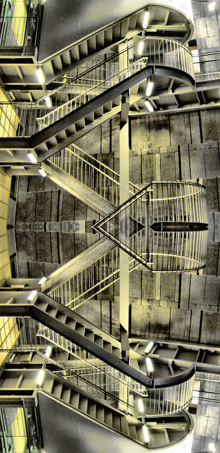 Reflecting Stairs Photograph